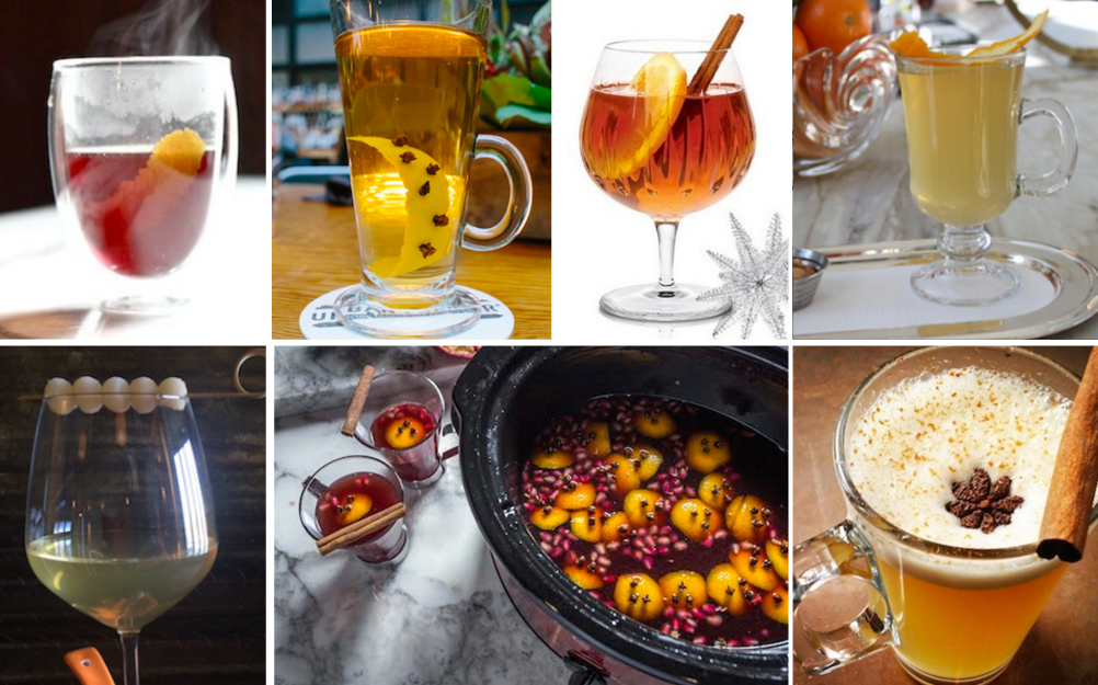 photo of multiple toddy cocktails