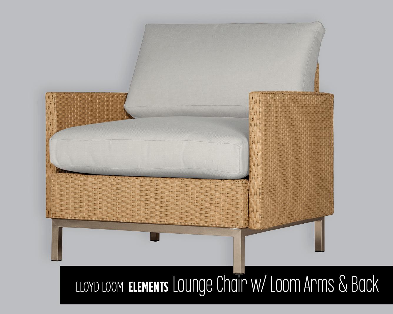 Lloyd Loom Elements Lounge Chair