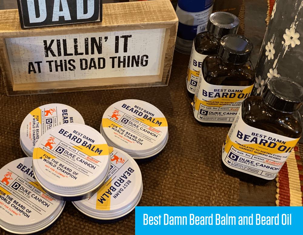 Best Damn Bear Balm and Bear Oil