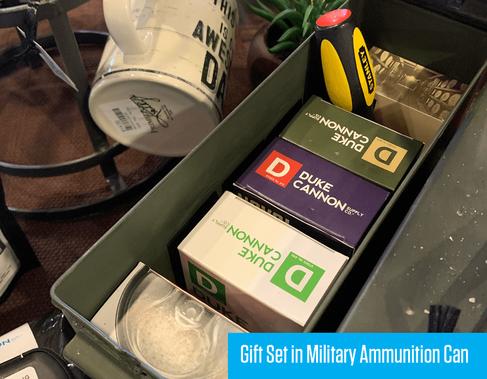 Gift Set in Military Ammunition Can