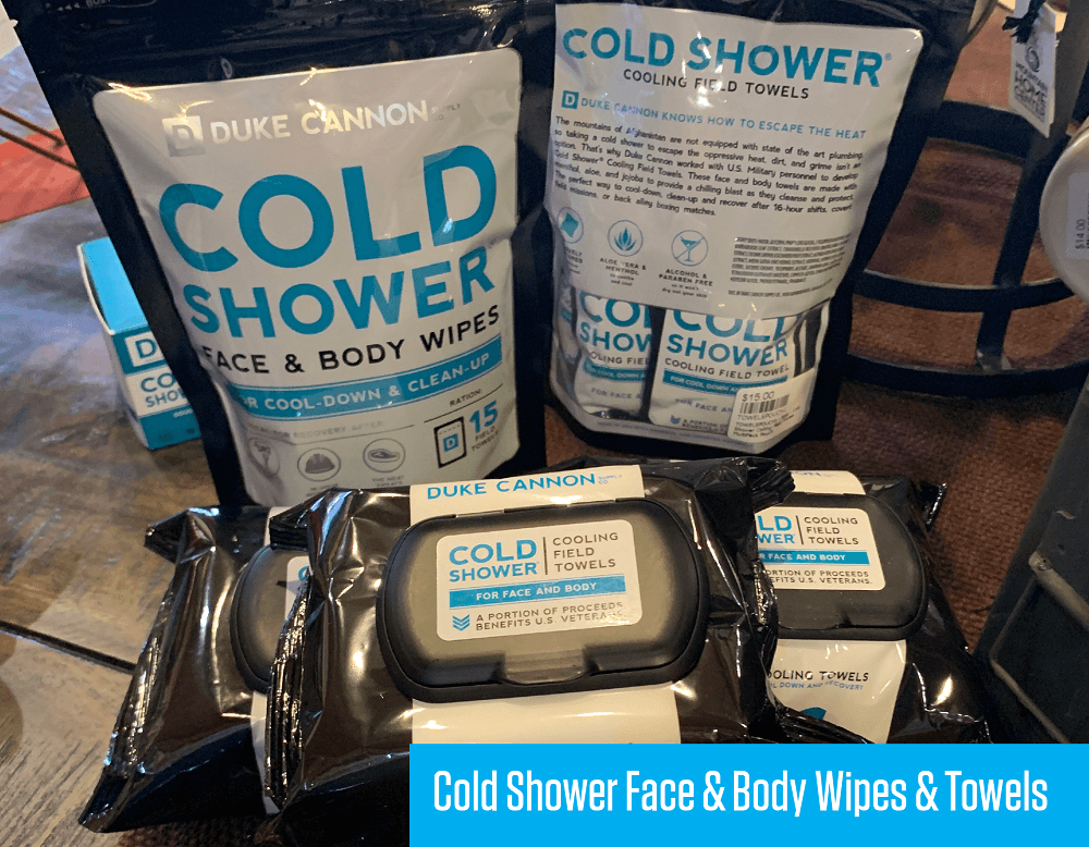 Cold Shower Face & Body Wipes