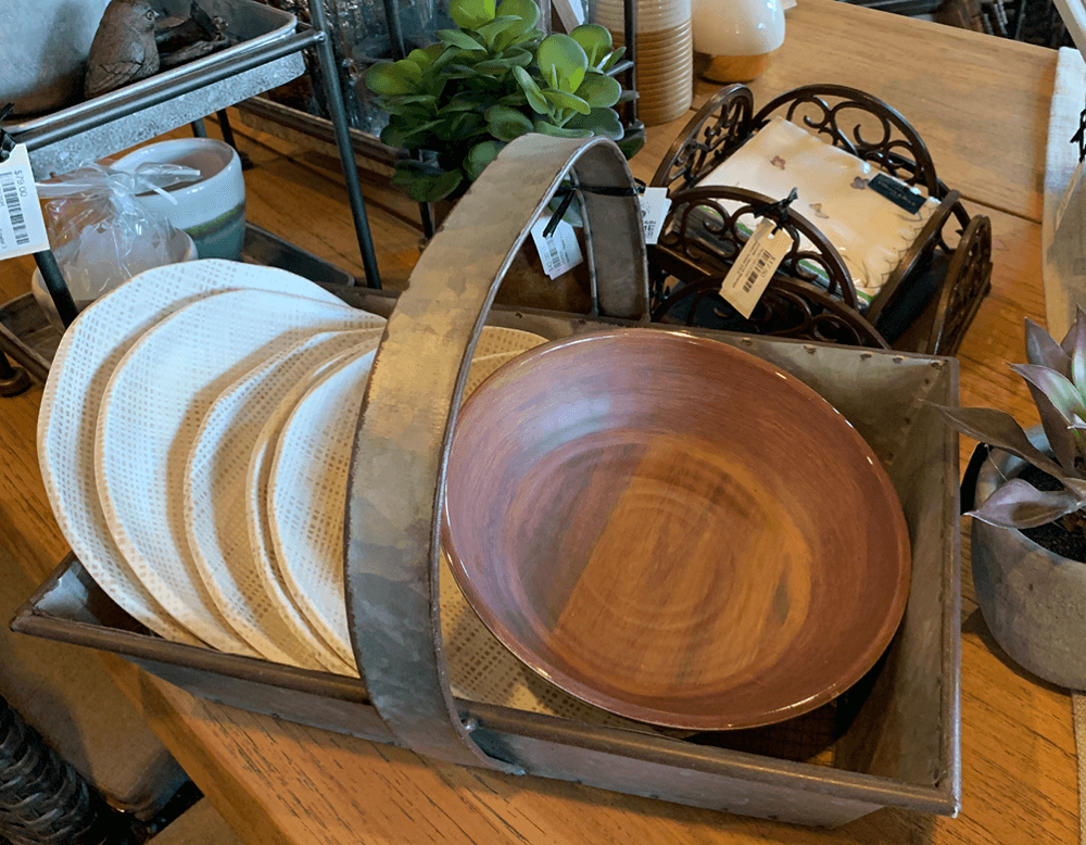 photo of wood tableware