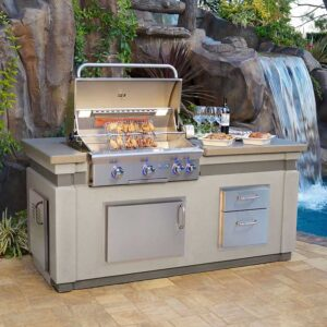 AOG Built In Grill Island