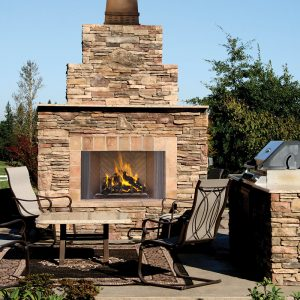 Astria Oracle Outdoor Fireplace