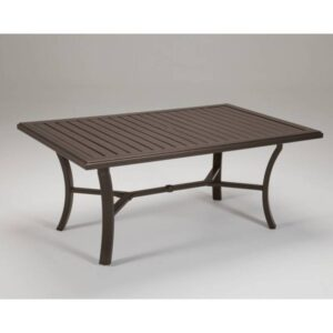 Banchetto 66x42in_KD Dining Table Rectangle Umbrella