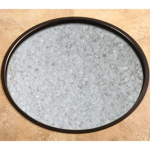 Crystal Crushed Fire Glass