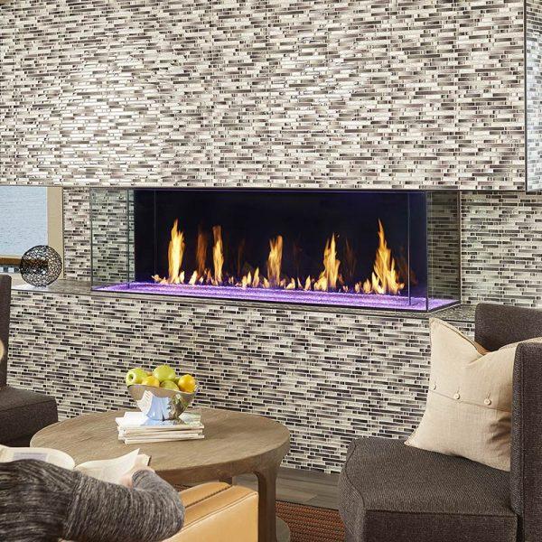 DaVinci Bay Gas Fireplace