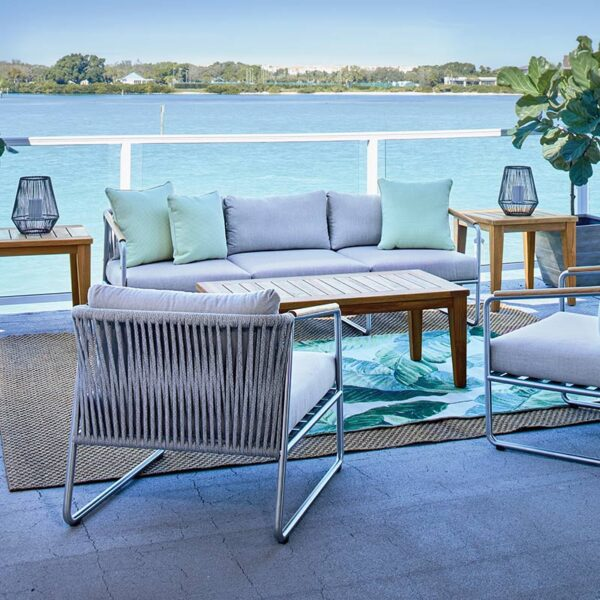Elevation Seating and Teak Tables
