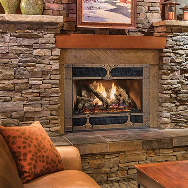 FPX 564TRV25K Bronze Timberline Gas Fireplace
