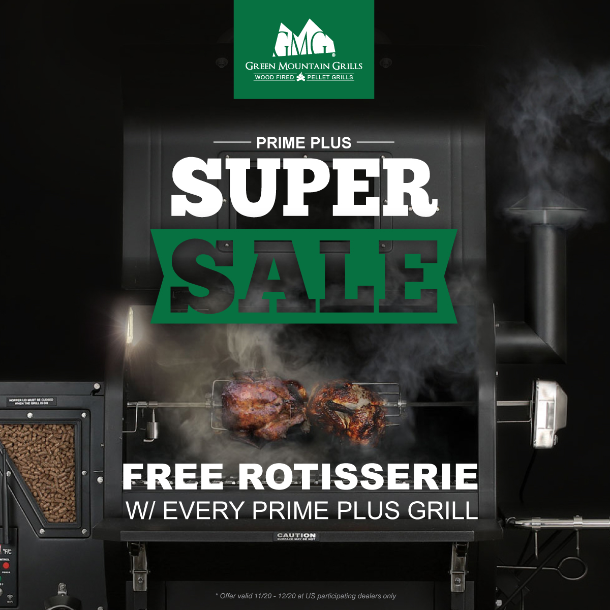 Green Mountain Grill Super Sale