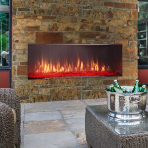 Heat & Glo Lanai Linear Gas Fireplace