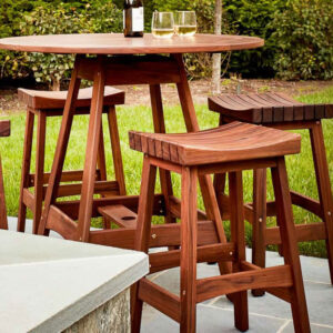 Jensen Leisure Classic Sunset Bar Stool-Ipe