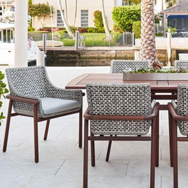 Jensen Leisure Forte Chairs Richmond Table