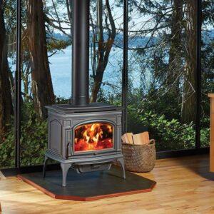 Lopi Rockport Cast Iron Wood Stove