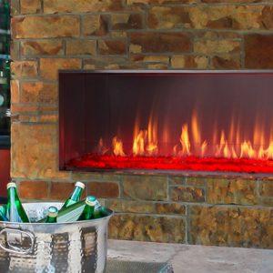Majestic Lanai Outdoor Gas Fireplace