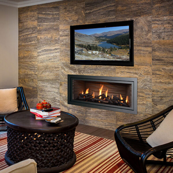 Mendota ML47 Decor Gas Fireplace
