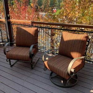 O.W. Lee Classic Lounge Chairs