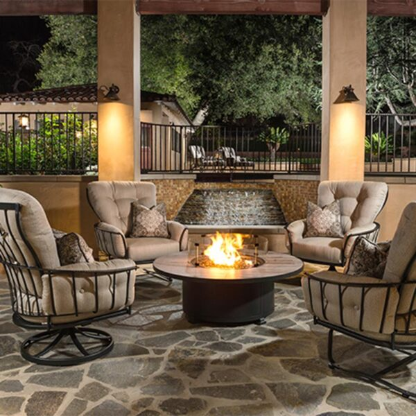 OW Lee Monterra Deep Seating Fire-pit