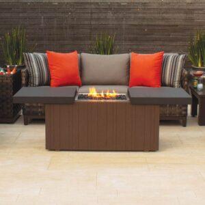 Plank Hide Fire pit & Table