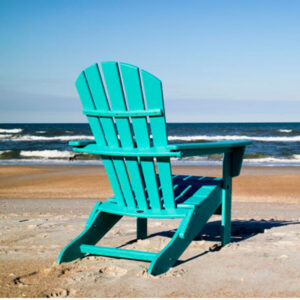 Polywood Palm Coast Folding Adirondack