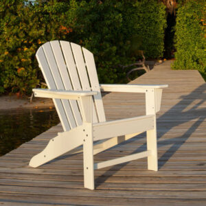 Polywood South Beach Curve Back Adirondack
