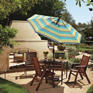 Treasure Garden 7.5' Push Tilt Umbrella
