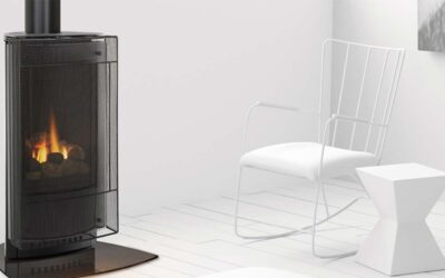 No One Builds a Better Fire: Heat & Glo Gas Stoves.