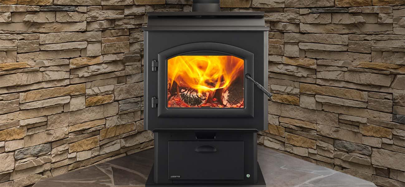 Quadra-Fire wood stove