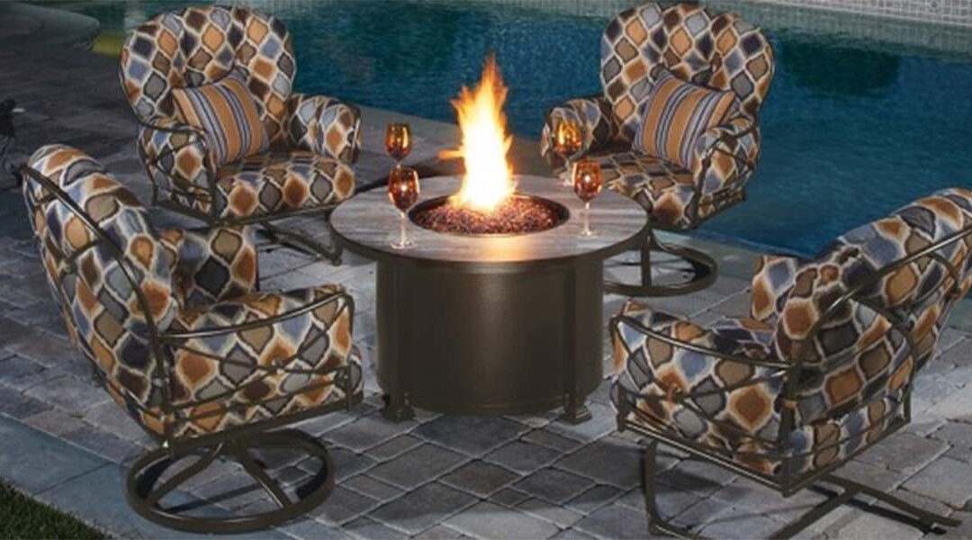 Spend Cool Summer Evenings 'round a Warm, Cozy Fire… Outside!