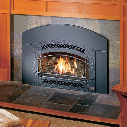 photo of fireplace insert