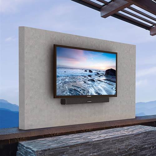 photo of outdoor TV