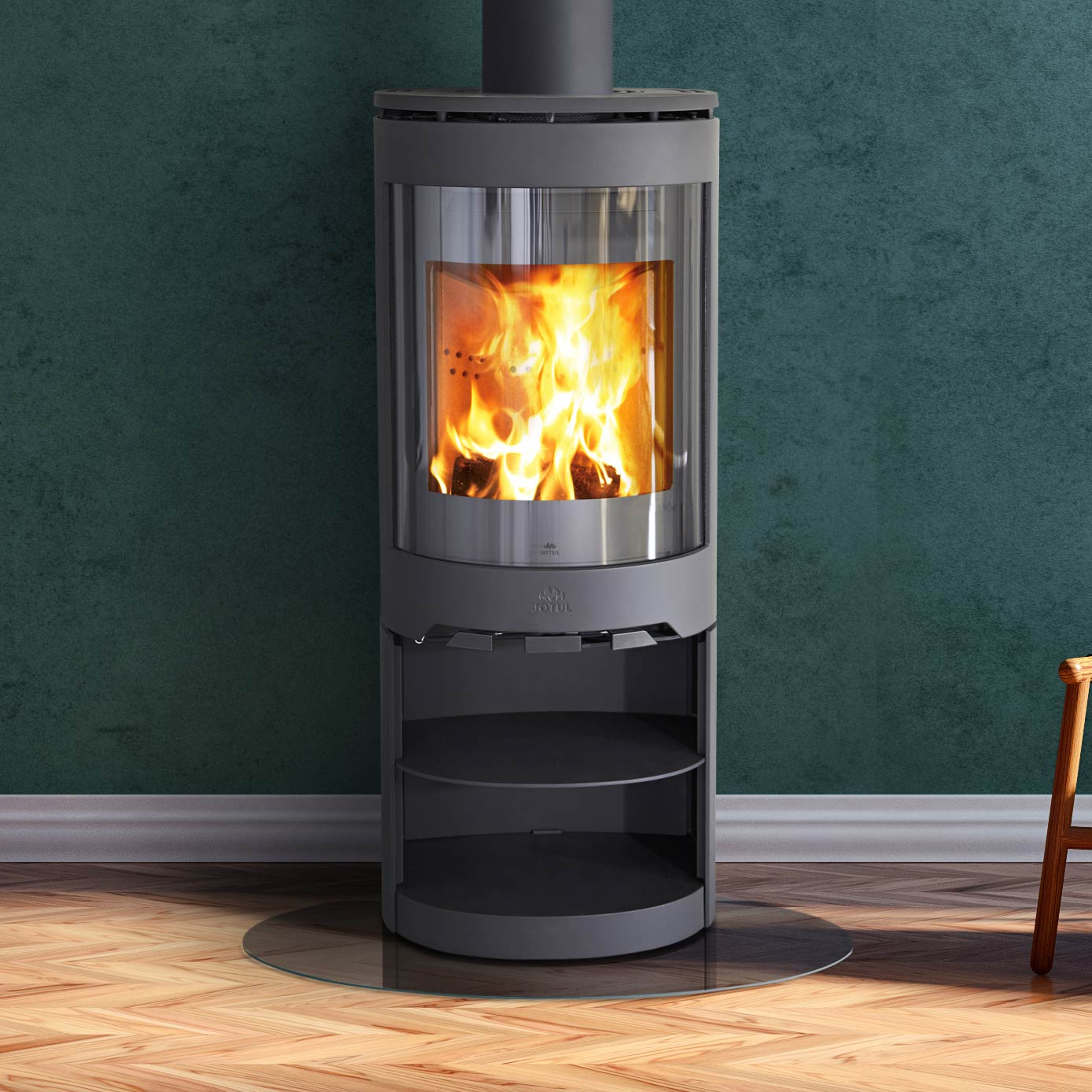 photo of wood stove