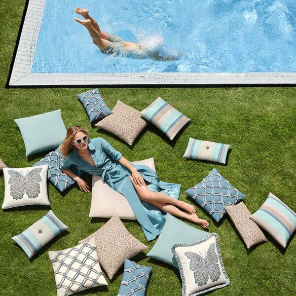 Elaine Smith Lagoon Collection Outdoor Pillows