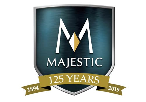 logo for Majestic 125 years