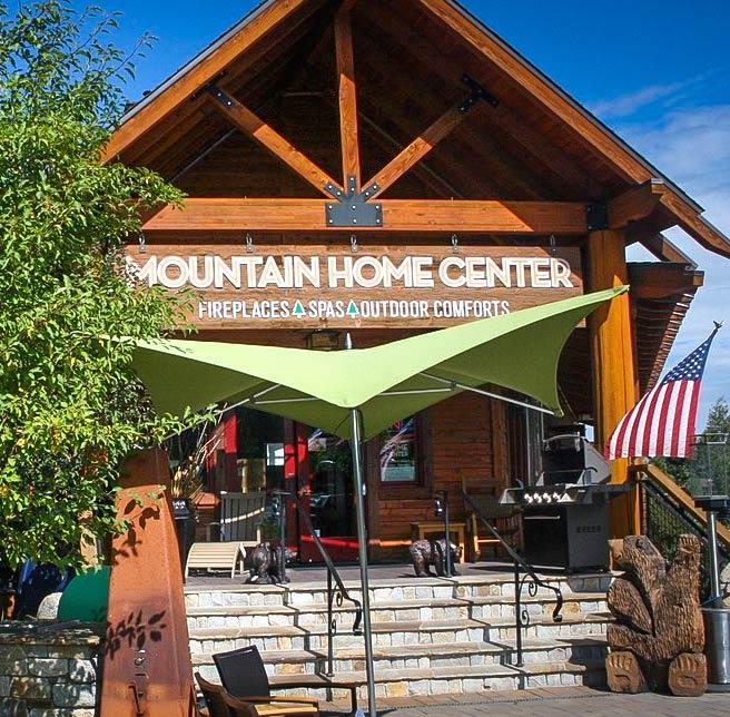 photo of Mountain Home Center store entrance