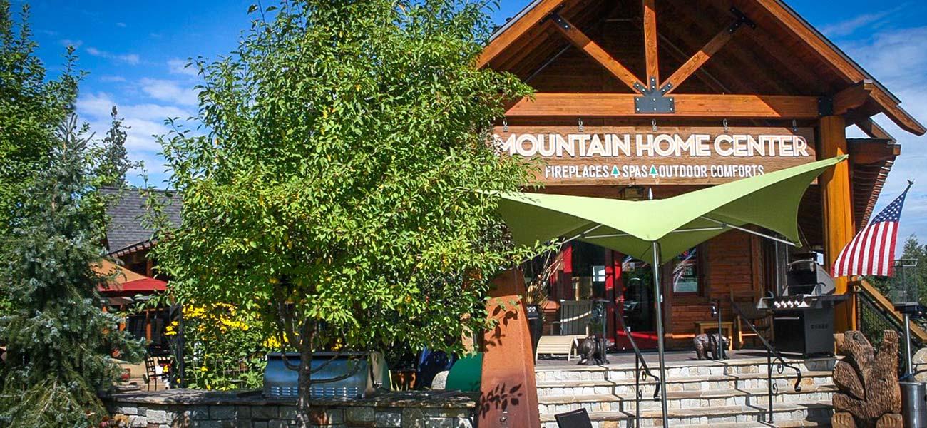 photo of Mountain Home Center store exterior